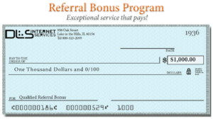 DLS Referral Bonus Program