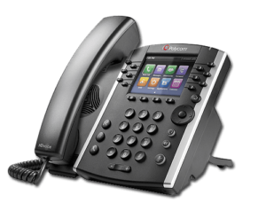 Polycom VVX400 integrates with most SIP-based business phone systems